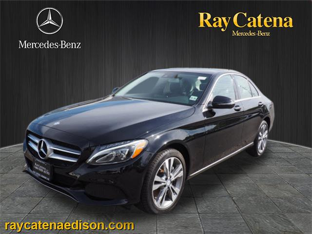 Pre owned 2017 mercedes benz c class c 300 sedan in edison for Ray catena mercedes benz