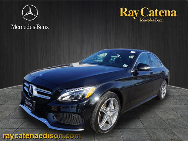 Pre owned 2015 mercedes benz c class c 400 4matic awd for Ray catena mercedes benz