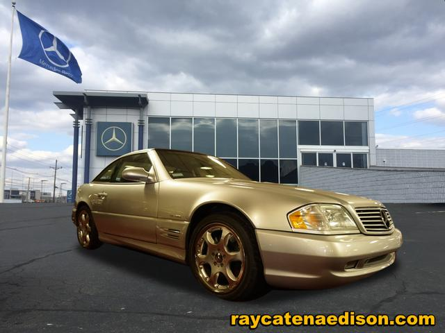 Pre-Owned 2002 Mercedes-Benz SL-Class SL 600