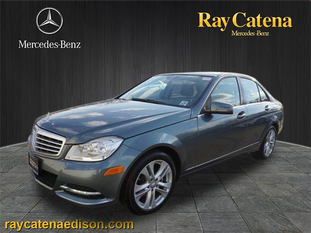 Pre owned 2012 mercedes benz c class c300 luxury 4matic for Mercedes benz c300 4matic 2012
