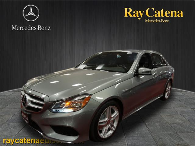 Pre owned 2014 mercedes benz e class 4dr sdn e350 4mat for Ray catena mercedes benz