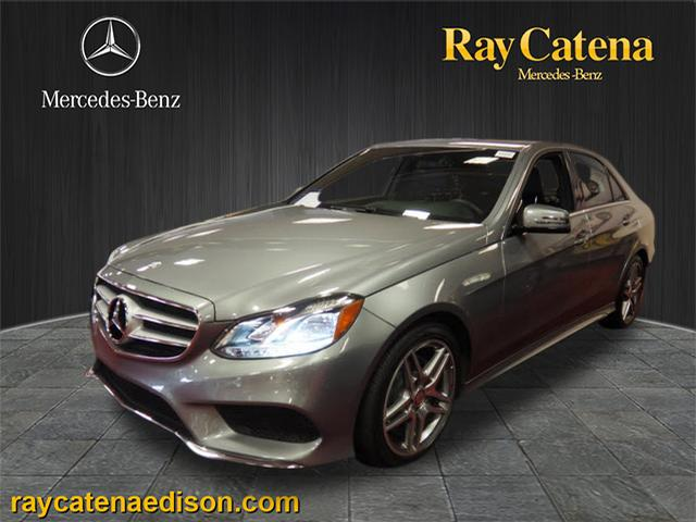Certified pre owned 2014 mercedes benz e class e 350 sport for Ray catena mercedes benz edison