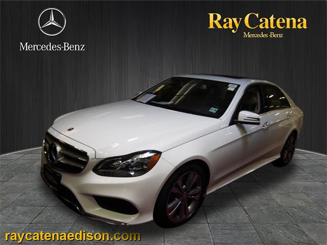 Pre owned 2016 mercedes benz e class e 350 sport sedan in for Ray catena mercedes benz