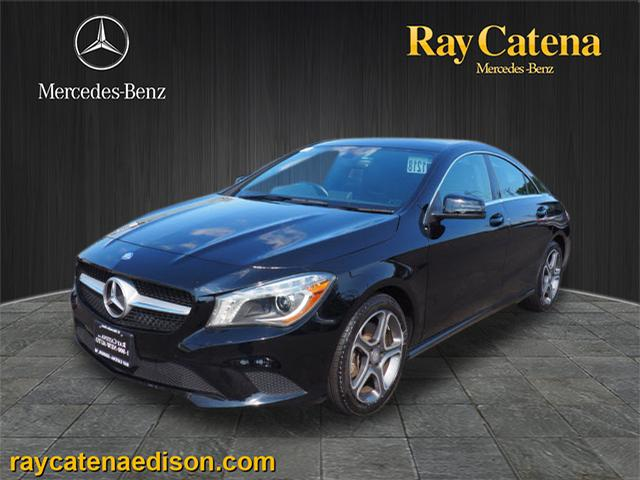 Certified pre owned 2014 mercedes benz cla cla 250 coupe for Ray catena mercedes benz