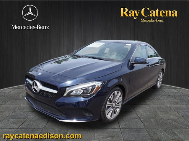 New 2018 mercedes benz cla cla 250 coupe in edison 1832 for Ray catena mercedes benz