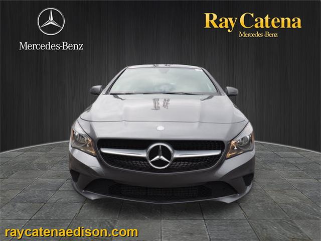 Certified pre owned 2016 mercedes benz cla cla 250 coupe for Ray catena mercedes benz edison