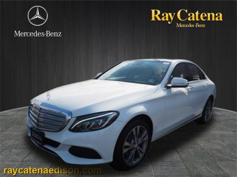 Certified pre owned mercedes benz c class ray catena of for Ray catena mercedes benz edison