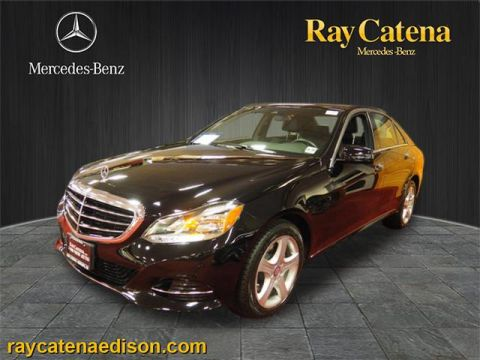 Certified pre owned 2014 mercedes benz e class e 350 sport for Ray catena mercedes benz