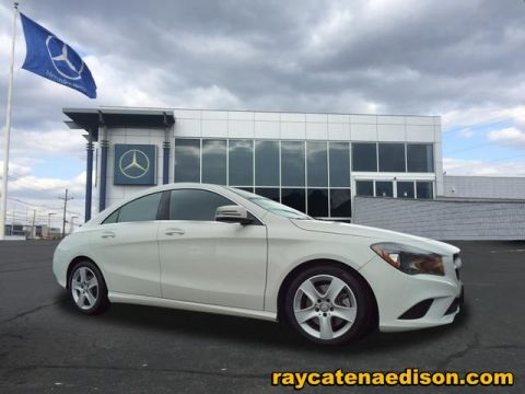 Ray Catena Mercedes >> Certified Pre Owned 2016 Mercedes Benz Cla Cla 250 Coupe In Edison
