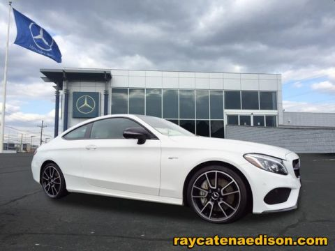 Certified Pre-Owned 2017 Mercedes-Benz C-Class AMG® C 43 Coupe